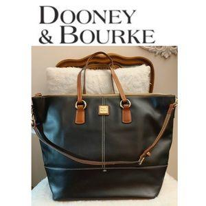 Dooney&bourke large leather tote bag